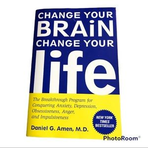 2/$10 Change Your Brain Change Your Life Book